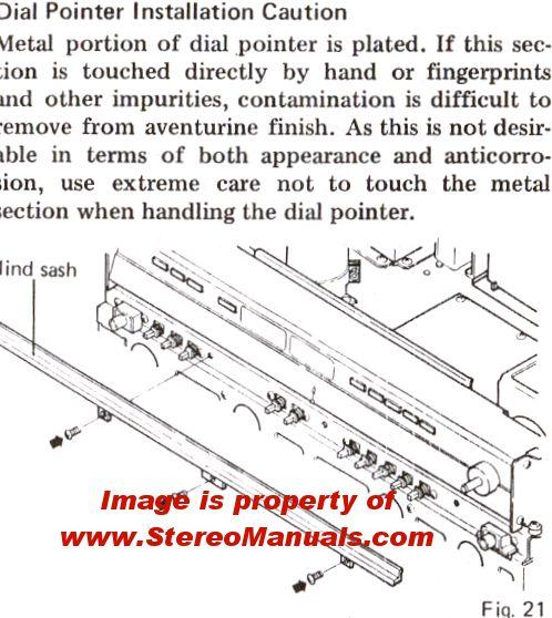 pioneer sx 550 service manual